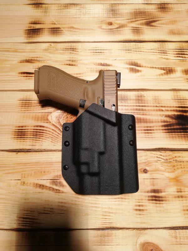 Crusader Veritas Glock - Pistolenhalterung für Glock mit Streamlight TLR-8