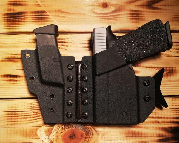 Pistolen Holster für Glock G43 mit Streamlight TLR-6