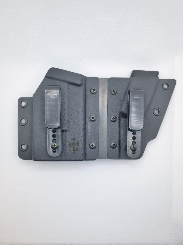 Waffenholster für Glock 17/19 mit Olight Baldr Mini
